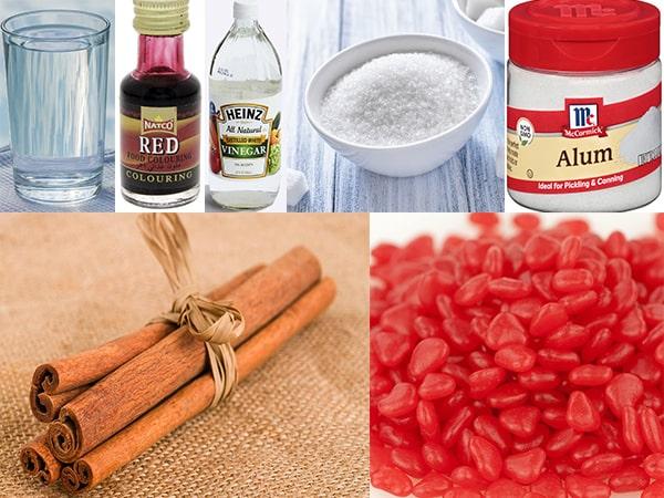 red pickles ingredients 2